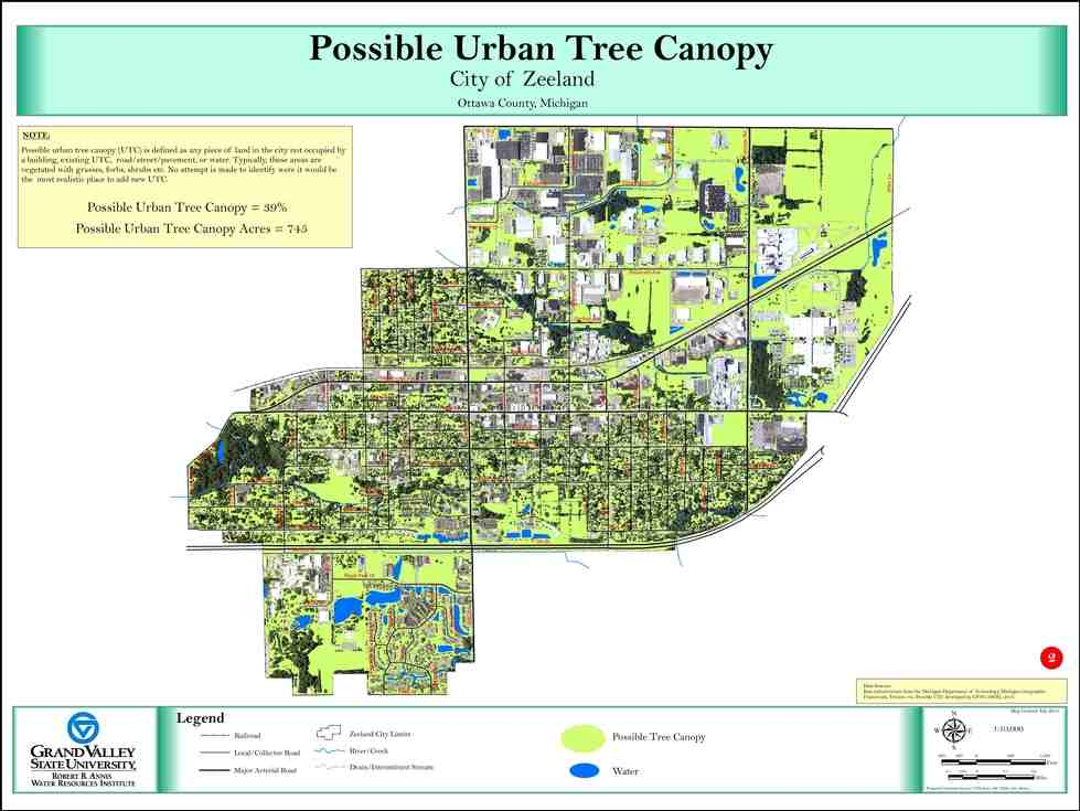 Possible Urban Tree Canopy